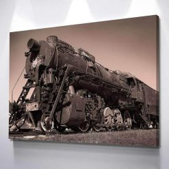 1-CV Steam Train 1 Piece Canvas Art Wall Decor – Canvas Prints Artwork